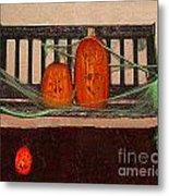 Halloween Decoration Metal Print