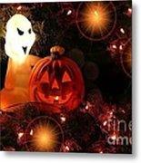 Halloween Magic Metal Print