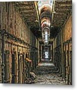 Hallway Eastern State Penitentiary  Metal Print