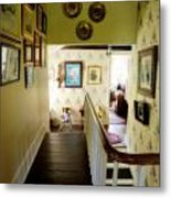 Hallway In Home Of Anna Jarvis Metal Print