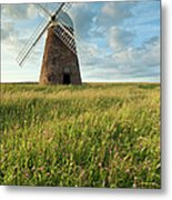 Halnaker Windmill On A July Afternoon Metal Print