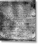 Hamilton: Pamphlet, 1797 Metal Print