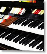 Hammond Electric Organ Metal Print