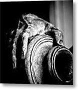 Hand And Vessel Metal Print