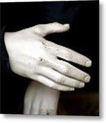 Hand Practice Metal Print
