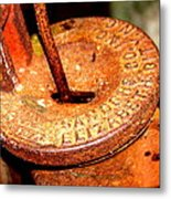 Hand Pump - Water Pump - Well Pump Metal Print