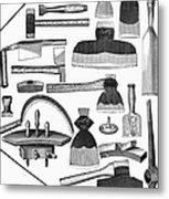 Hand Tools, 1876 Metal Print