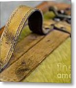 Handle On A Suitcase  Metal Print