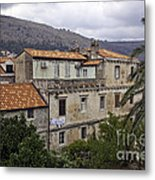 Hanging Out To Dry In Dubrovnik 1 Metal Print