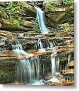 Hanging Rock Cascades Metal Print