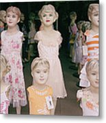 Hanoi Mannequins Metal Print