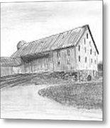 Hanover Barn 1 Metal Print by Carl Muller