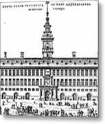 Hanseatic League, 1563 Metal Print