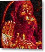 Hanuman The Monkey King Metal Print by Naresh Ladhu