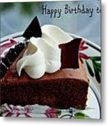 Happy Birthday To You Metal Print