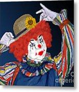 Happy Clown Metal Print