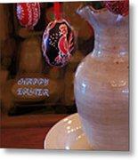 Happy Easter Poster Metal Print