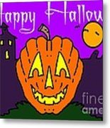 Happy Halloween 2 Metal Print