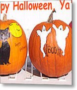 Happy Halloween  Yall Metal Print