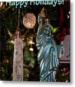 Happy Holidays To All My Friends On Fine Art America Metal Print