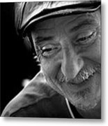 Happy Man Metal Print