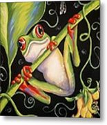 Happy Thoughts Metal Print by Sandra Lett