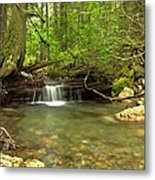 Happy Trail Falls Metal Print