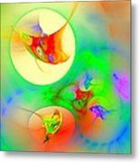 Happyness Metal Print