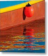 Harbor Colors Metal Print