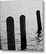 Harbor Ties Metal Print