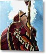 Hard Rock Guitar Metal Print