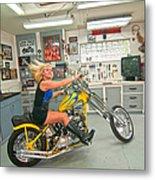 Harley Country Metal Print
