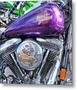 Harley Davidson 3 Metal Print
