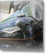 Harley Davidson Emblem Metal Print