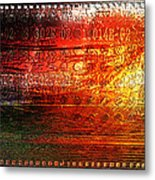 Harmonic Distortion Metal Print