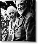Harmony And Charles Ives At West Metal Print
