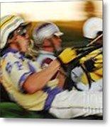 Harness Racing 13 Metal Print