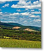 Harnessing The Wind Metal Print
