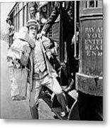 Harold Lloyd (1889-1971) Metal Print