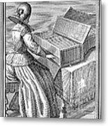 Harpsichord, 1723 Metal Print