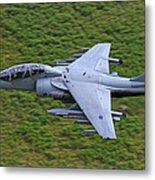 Harrier Low Level Metal Print