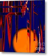Harvest Moon Metal Print