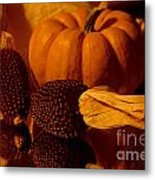 Harvest Reflections Metal Print