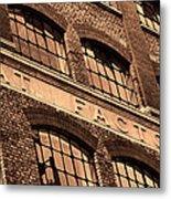 Hat Factory Metal Print