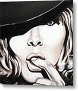 Hats Only Metal Print