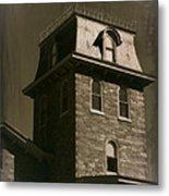 Haunted House 1 Metal Print
