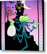 Haunted House Metal Print