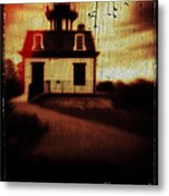 Haunted Lighthouse Metal Print by Edward Fielding