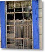 Haunted Window Metal Print