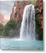 Havasu Waterfall Metal Print by Chris Hill